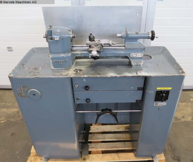 used Lathes Bench Lathe SCHAUBLIN 70-80