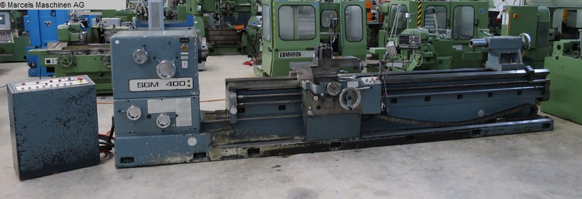 used  Center Lathe EST-TICINO SGM400 4000-6000