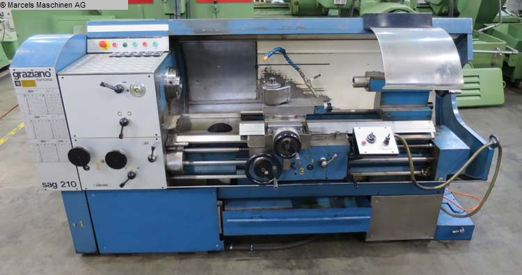used  Center Lathe GRAZIANO SAG 210