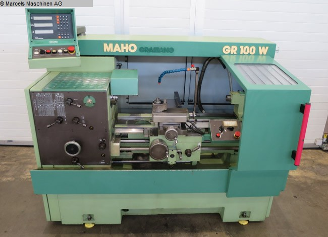 used  Center Lathe MAHO-GRAZIANO GR 100W