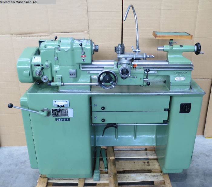 used  Center Lathe SCHAUBLIN 102VM