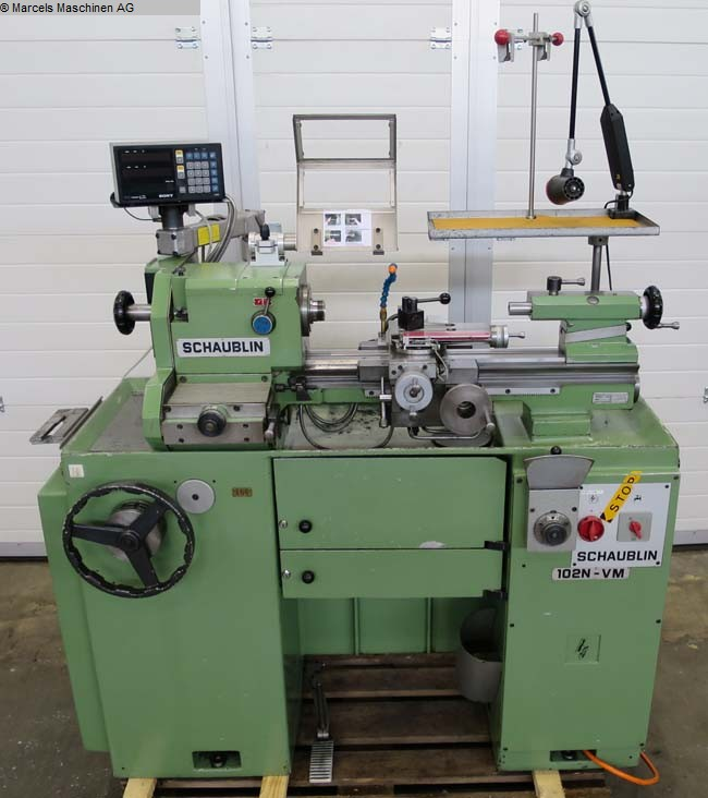 used  Center Lathe SCHAUBLIN 102 N-VM