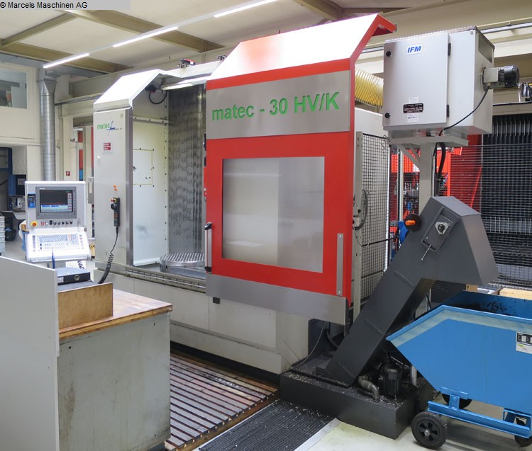 used Milling machines milling machining centers - universal MATEC 30 HV/K/NC