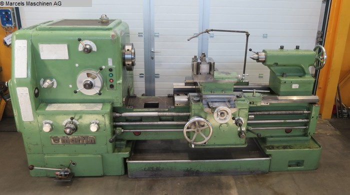 used Center Lathe MARTIN DS80x1000