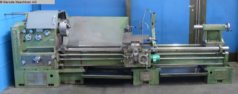 used Center Lathe NOSOTTI TN 450/3000