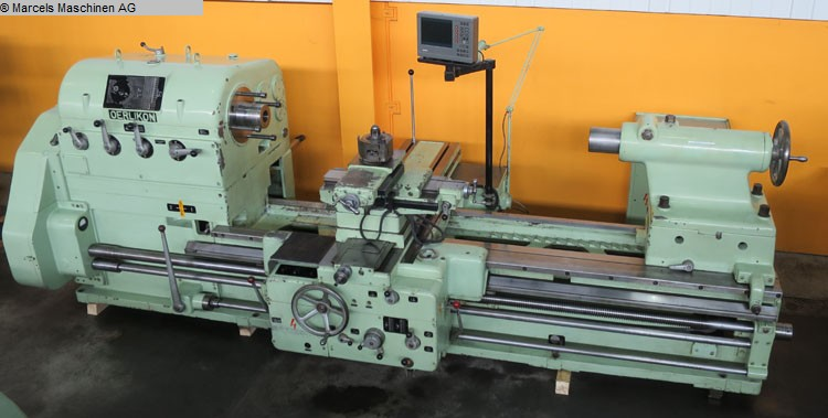 used Center Lathe OERLIKON DM5S-650x2000
