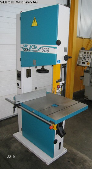 used Woodworking Band saw ACM Star 700