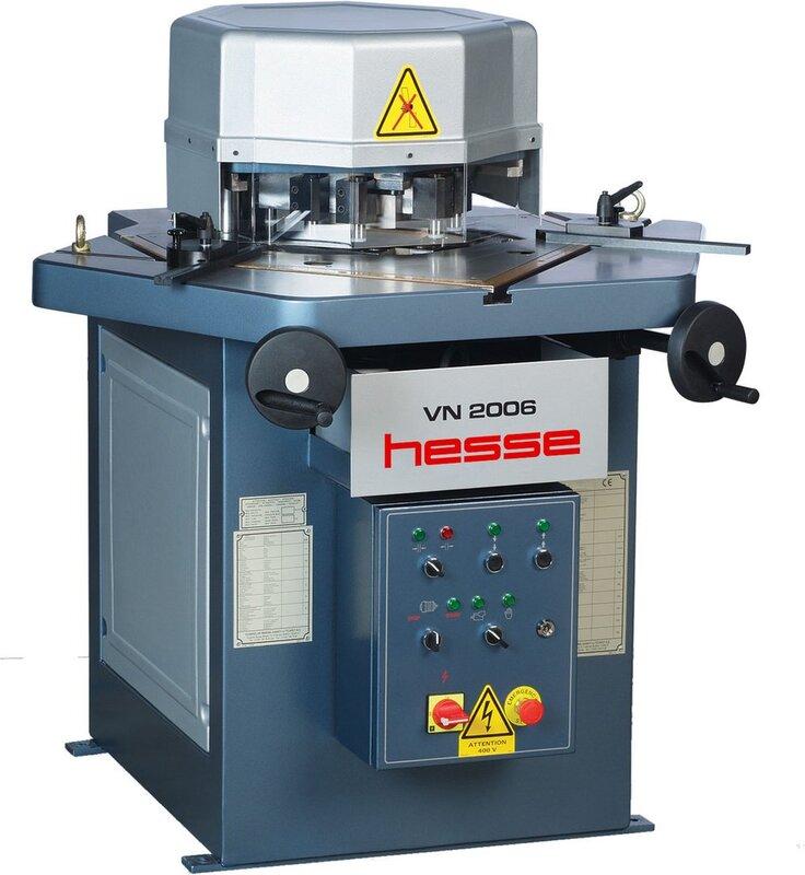 gebrauchte Blechbearbeitung / Scheren / Biegen / Richten Ausklinkmaschine HESSE by DURMA VN 2006