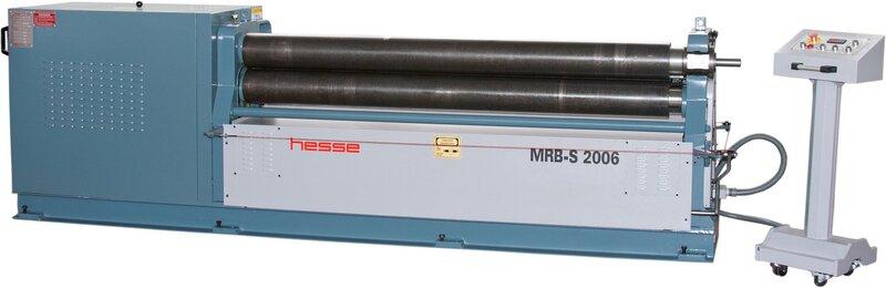 used Sheet metal working / shaeres / bending Plate Bending Machine  - 3 Rolls HESSE by DURMA MRB-S 2506