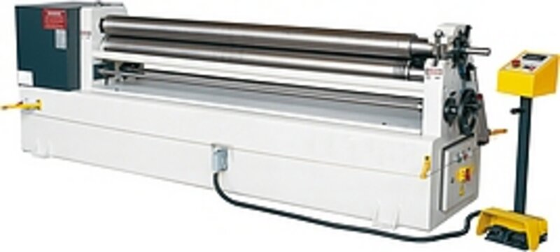 used Sheet metal working / shaeres / bending Plate Bending Machine  - 3 Rolls HESSE by ISITAN IRM 2050 x 140