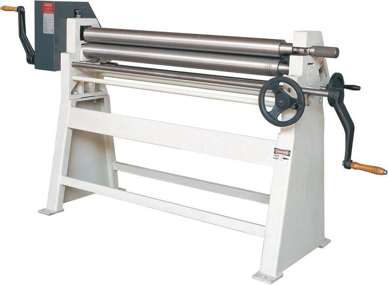 used Sheet metal working / shaeres / bending Plate Bending Machine  - 3 Rolls HESSE by ISITAN RS 1050 x 90