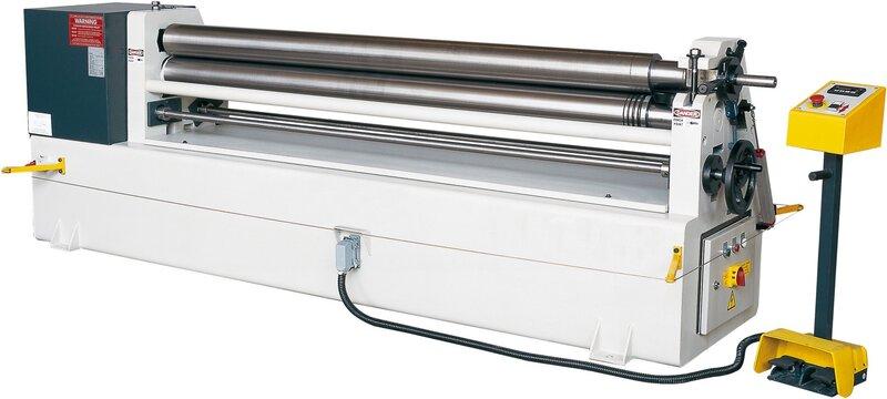 used Sheet metal working / shaeres / bending Plate Bending Machine  - 3 Rolls HESSE by ISITAN IRM 1270 x 120