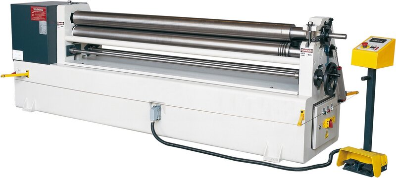 used Sheet metal working / shaeres / bending Plate Bending Machine  - 3 Rolls HESSE by ISITAN IRM 1050 x 130