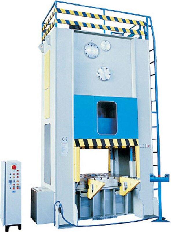 gebrauchte Pressen und Bördelmaschinen Doppelständerexzenterpresse HESSE by DIRINLER CDCH 2000 P
