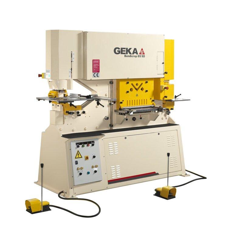 gebrauchte Blechbearbeitung / Scheren / Biegen / Richten Profilstahlschere GEKA BENDICROP 85 SD