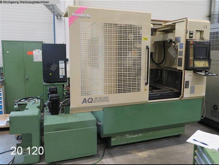 máquina usada Máquina de erosión de alambre SODICK AQ 535 L