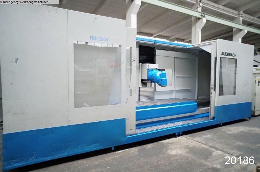 gebrauchte Fräsmaschinen Bettfräsmaschine - Universal AUERBACH FBE 2600 / TNC 415B