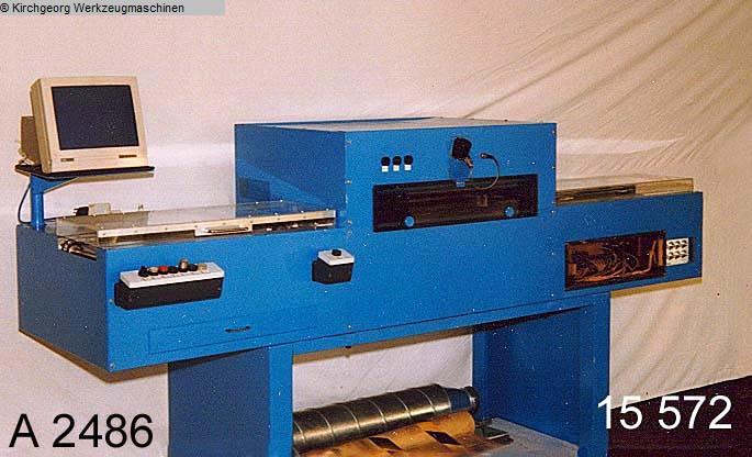 gebruikte elektronica fabricage soldeereenheid MÄDER 8 x 2000 mm