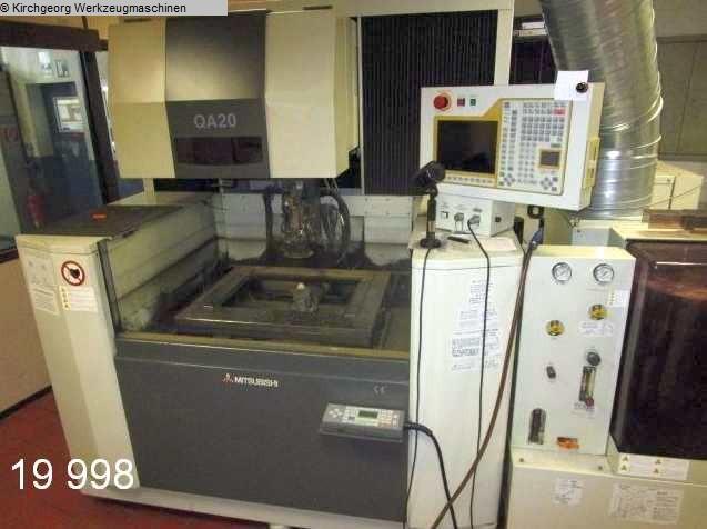 gebrauchte Erodiermaschinen Drahterodiermaschine MITSUBISHI QA 20
