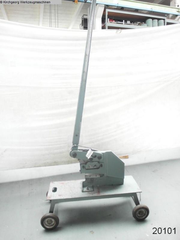 used Sheet metal working / shaeres / bending Hand-Lever Shear MUBEA 5 SN / 8 R