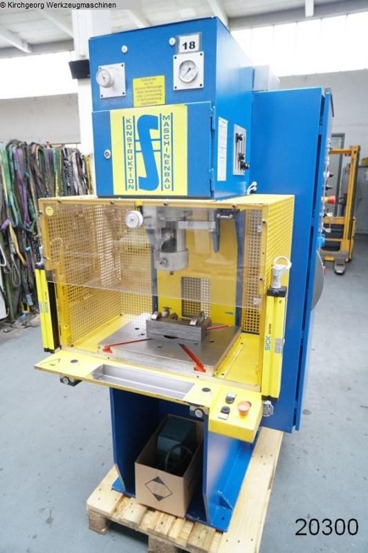 gebrauchte Pressen und Bördelmaschinen Hydraulische Presse SCHÖN TES C25