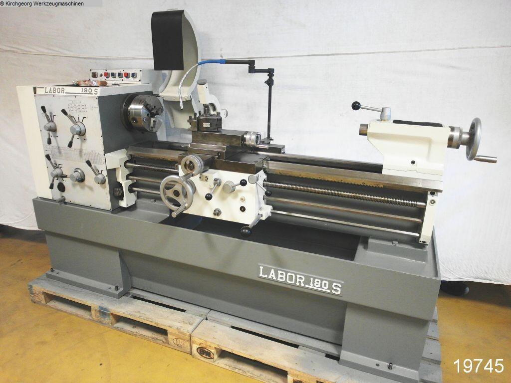 gebrauchte Leit- und Zugspindeldrehmaschine PADOVANI Labor 180 S