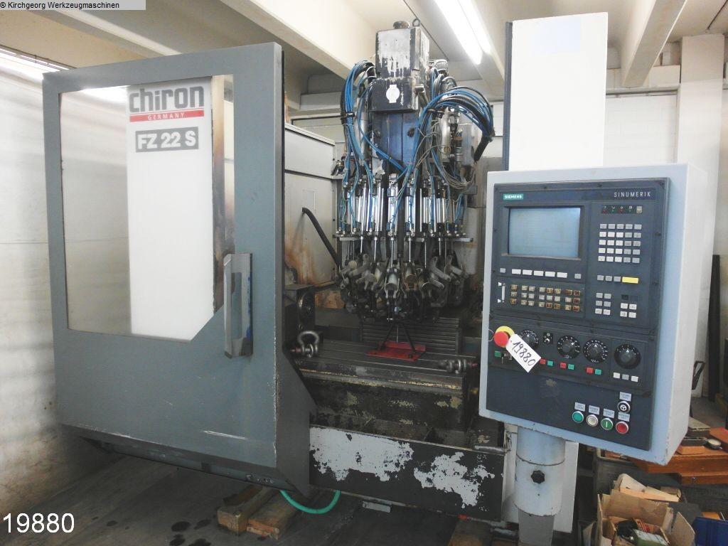 gebrauchte  Bearbeitungszentrum - Vertikal CHIRON FZ 22 S