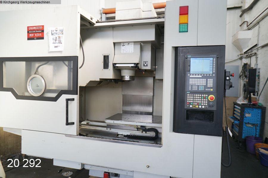 gebrauchte  Bearbeitungszentrum - Vertikal QUASER MV 184 C / Sinumerik 828 D