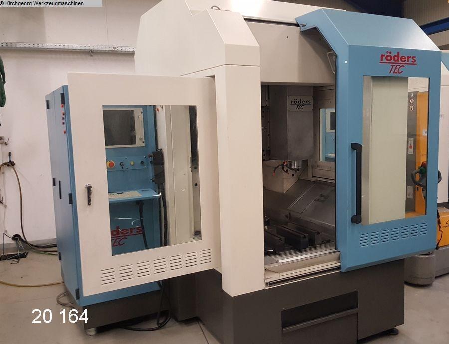 gebrauchte  Bearbeitungszentrum - Vertikal RÖDERS  (HSC) RFM 600/2