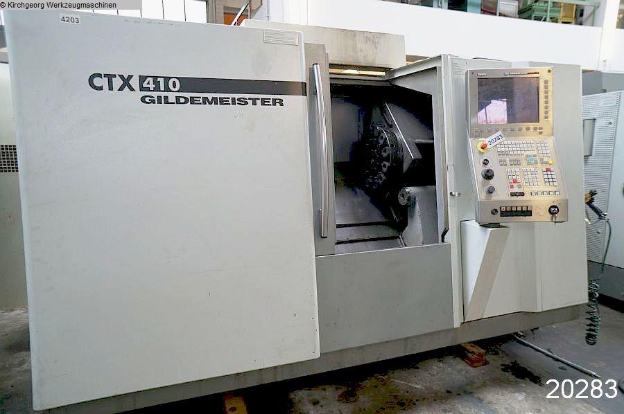 gebrauchte  CNC Dreh- und Fräszentrum GILDEMEISTER CTX 410 V3 / Sinumerik 840 D