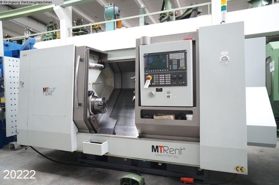 gebrauchte  CNC Dreh- und Fräszentrum MTRENT T 30 MC / Sinumerik 828D