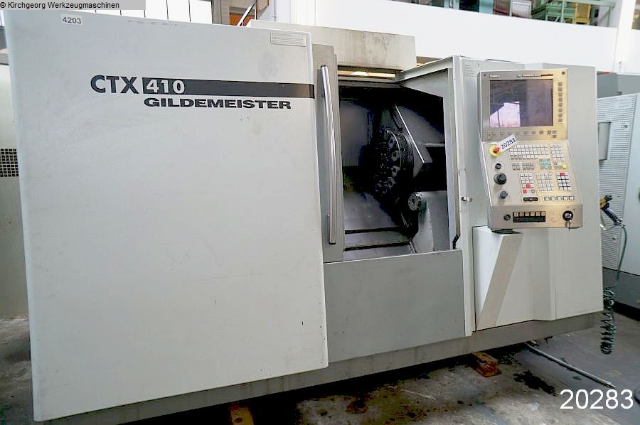 used  CNC Turning- and Milling Center GILDEMEISTER CTX 410 V3 / Sinumerik 840 D
