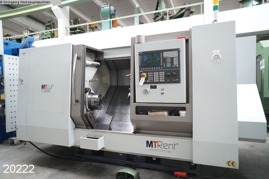used  CNC Turning- and Milling Center MTRENT T 30 MC / Sinumerik 828D