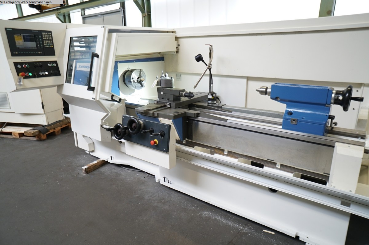 used  Lathe -  cycle-controlled BOEHRINGER VDF DUS 560 / Sinumerik 810 D