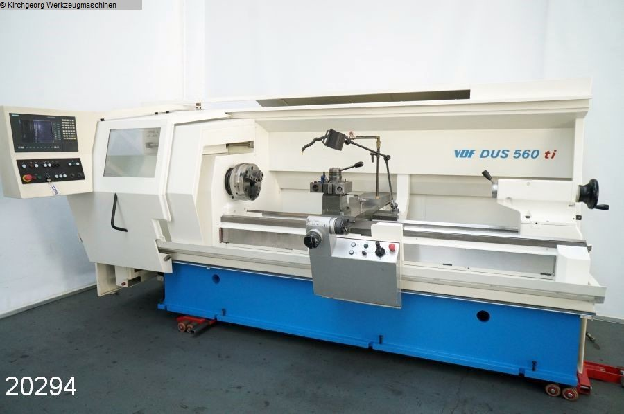 used  Lathe -  cycle-controlled BOEHRINGER VDF DUS 560 ti