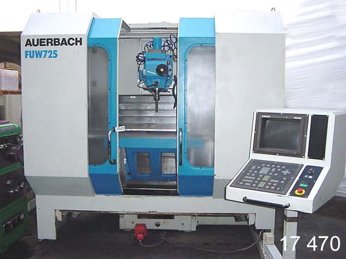 used  Machining Center - Universal AUERBACH FUW 725