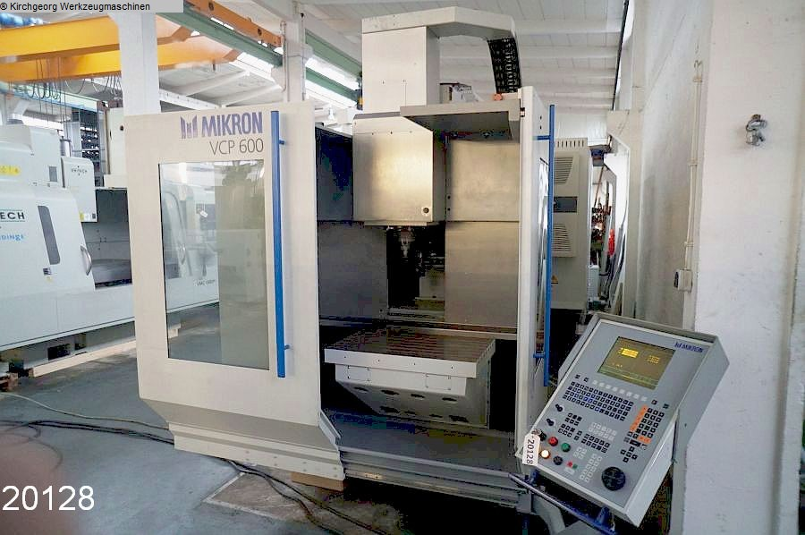 used  Machining Center - Vertical MIKRON VCP 600 / TNC 426