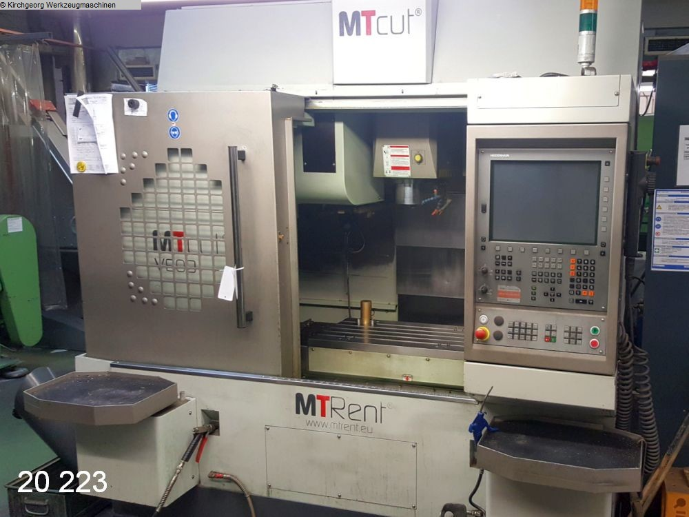 used  Machining Center - Vertical MTRENT V 60 D
