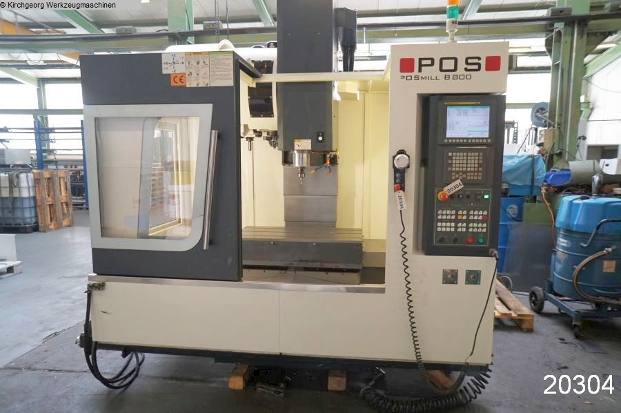 used  Machining Center - Vertical POSMILL B 800