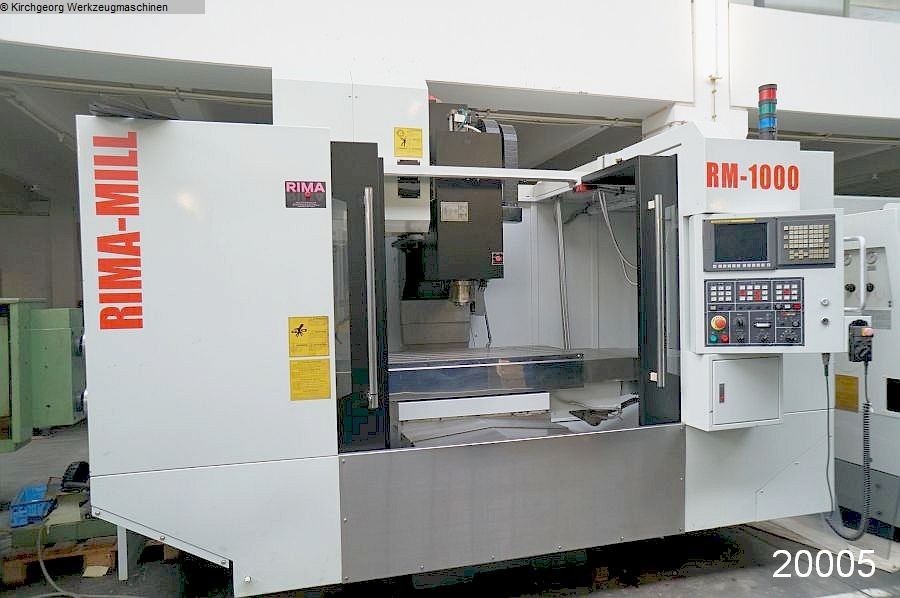 used  Machining Center - Vertical RIMA RM 1000