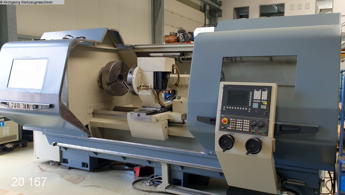 used Lathes Lathe -  cycle-controlled FAT-HACO - ueberholt TUR 1100 MN - 810D Shopturn