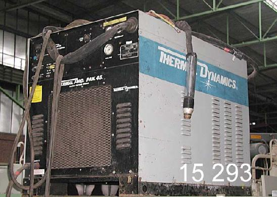 used Welding machines Plasma Cutting Device THERMAL  ARC PAK 45