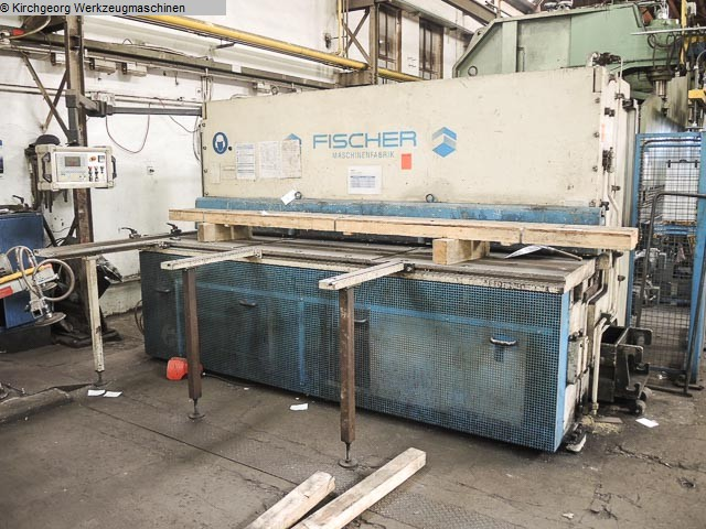 used Sheet metal working / shaeres / bending Plate Shear - Hydraulic FISCHER DHS 12/3100