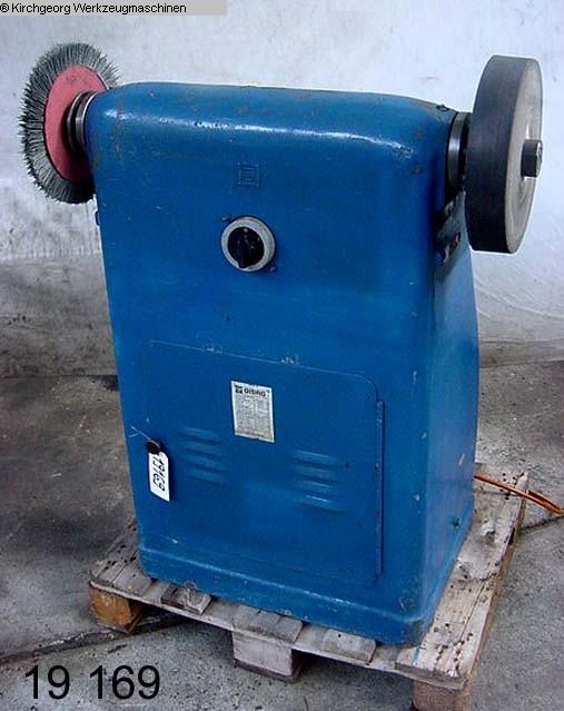 gebrauchte Schleifbock GISAG SE 2 X 315