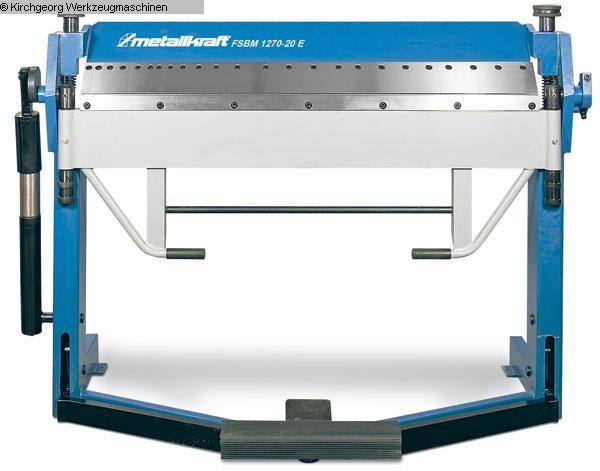 gebrauchte Blechbearbeitung / Scheren / Biegen / Richten Schwenkbiegemaschine METALLKRAFT FSBM 1020 - 25 E