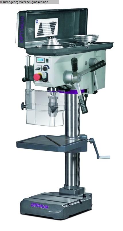 gebrauchte Bohrwerke / Bearbeitungszentren / Bohrmaschinen Tischbohrmaschine OPTIMUM B 24 H Vario