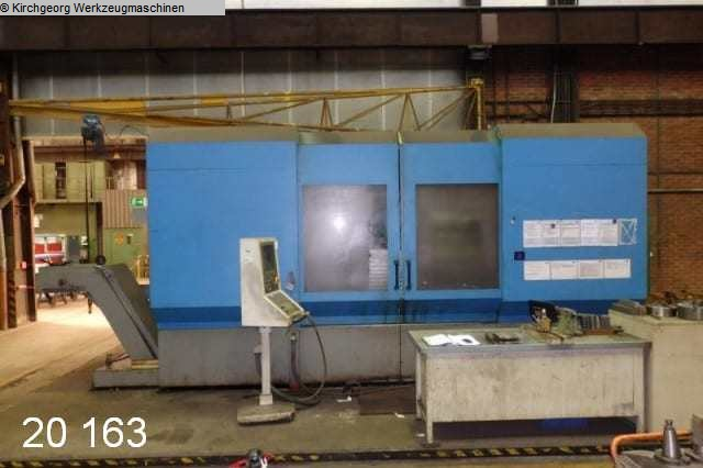 used Bed Type Milling Machine - Universal AUERBACH FBE 2000 / iTNC 530 IKZ