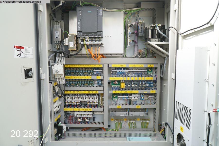used Machining Center - Vertical QUASER MV 184 C / Sinumerik 828 D
