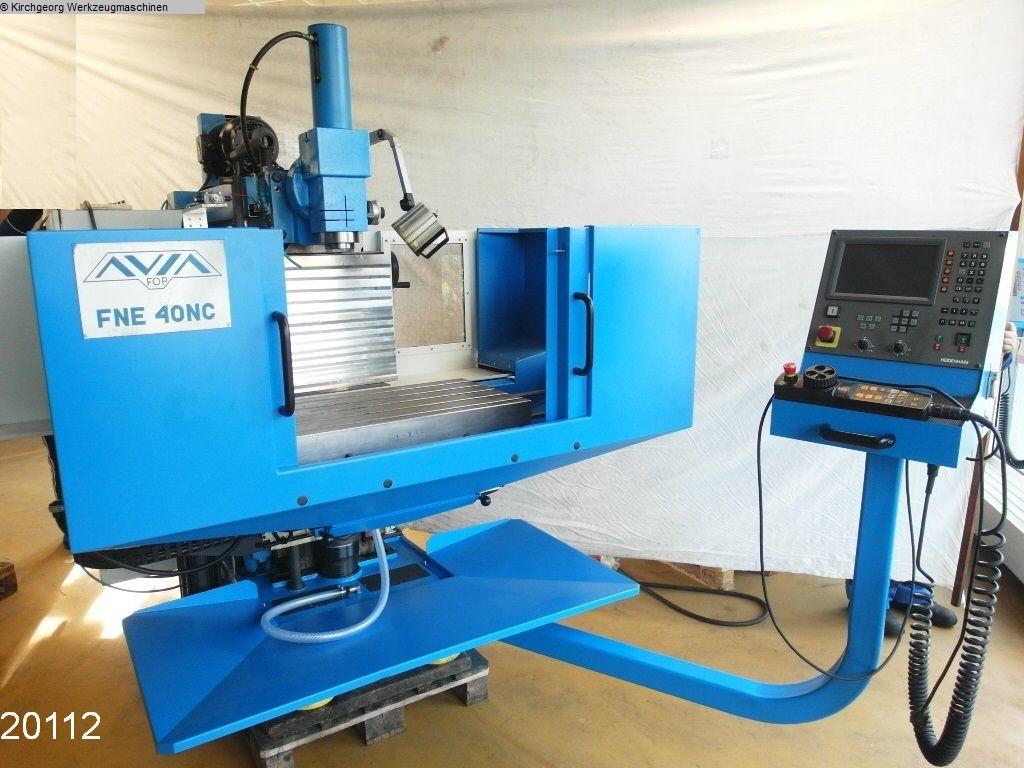 gebrauchte Fräsmaschinen Werkzeugfräsmaschine - Universal AVIA FNE 40 NC / TNC 310