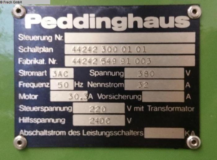 Lochstanzen von PEDDINGHAUS Typ: Peddimaster 110/170 Gebrauchtmaschinen